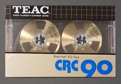 Teac CRC90 Chrome Reel to Reel Audio Cassette
