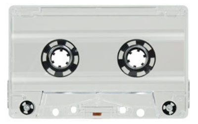 Blank Prison Cassette Tapes of Your Chosen Length TABS OUT or TABS IN