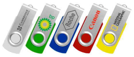 USB Key, 8 GB, with your printed logo, 100-pack