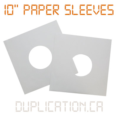 10 Inch Paper Sleeve for Vinyl Records