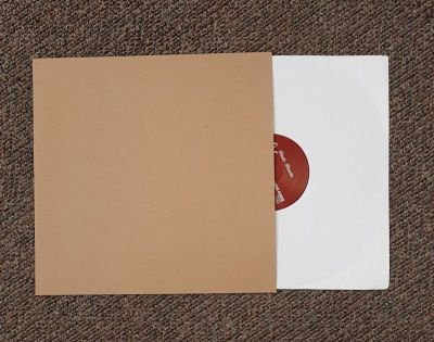 "18 pt Recycled Chipboard Jacket for Vinyl 12"" Records 100 pack"