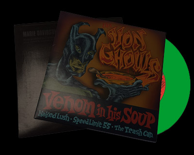 7 Inch Pressed Glow-In-The-Dark Color Records in Jackets With DMM Mastering