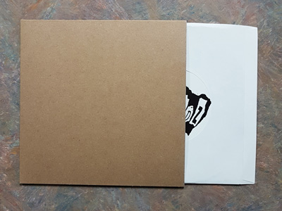 Chipboard 7.25 Inch Jackets for 7 Inch Records - 100 Pack