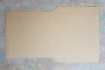 Chipboard Jacket Flats for 7 Inch Vinyl Records - 7.25 Inches - 100 Pieces