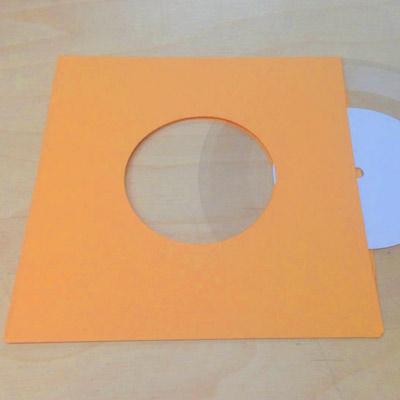 """Gold Inner Sleeve for 7"""" Vinyl Record - 50 Pack"""