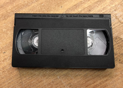 90/180 Minute VHS Tape