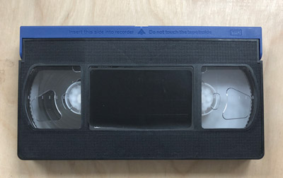 75 Minute VHS Tape, 1-Pass