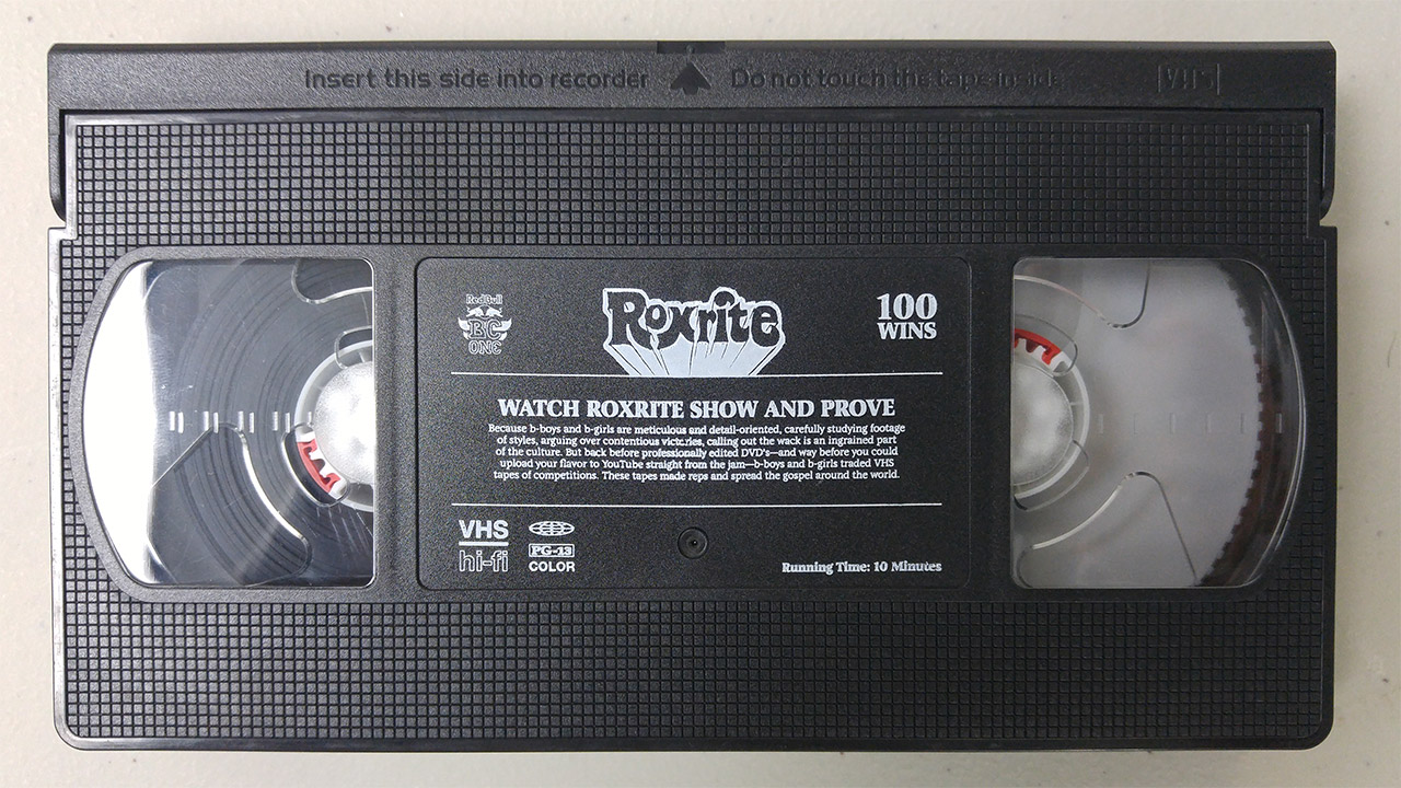 Pad Printing on VHS Tapes