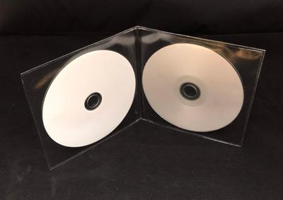 Deluxe Double Viewpak Vinyl Sleeve
