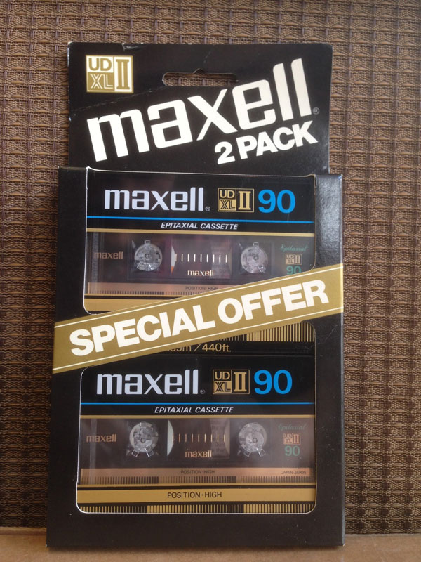 Maxell UD XLII - 90 *2 PACK*