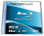 Falcon 25GB 4X Blu-ray Disc Branded in Jewel Case 5pk