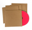 Recycled Cardboard Sleeve for CD, 500 pieces, with Free Shipping (USA/Canada)