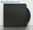 Black paper sleeve without window or flap