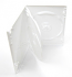 Triple DVD Case 15mm, White