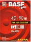 BASF 4mm Data Cartridge 60 meters - Type A
