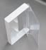 Audio Cassette Norelco Case, White Back, 100 pieces
