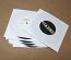 Standard white inner paper sleeve for 7 inch records - 100 pack