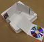 DIY CD Case White Flats for 4 Panel Wallets - 100pk