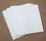 "Blank White Uncoated PRINTABLE Jackets for 12"" Vinyl Records 110 pieces"