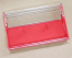 Clear/Red Norelco Case for Audio Cassettes