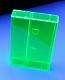 Fluorescent Green Norelco Case for Audio Cassettes