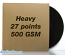 "Recycled 27 Point Chipboard Jacket for Vinyl 12"" Records 100 pack"