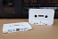 500 White C-Zero Audio Cassette Shells for Decoration and Art
