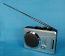 Deluxe Portable Cassette Player/Recorder with AM/FM Radio