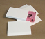 Blank White Cassette O-Cards, 15 Point Matte White Board 50 pieces