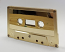 Gold Plated Audio Cassette With Chrome Tape