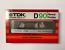 1982 Vintage TDK D-90 High Output Normal Bias Cassette Tape