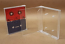 Double Cassette Box, 2 Side by Side, Clear/Clear, With Posts - 10 Pack