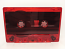 C-62 Normal Bias Red Tint Cassettes 5 Pack