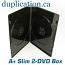 SLIM 7mm Double DVD Box