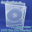 Super clear DVD box without overlay - 100 pieces
