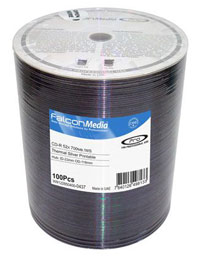 Falcon CD-R 52X Silver Thermal Hub Printable (Everest, P55) #437