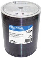 Falcon CD-R Diamond White Inkjet Hub Printable #444 100pk