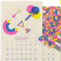 2017 Isometric Risograph Calendar