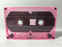 C-10 Normal Bias Pink Tint Cassettes 20 Pack