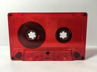 C-16 Normal Bias Red Transparent Cassettes 20 pack