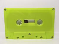 C-80 Normal Bias Green Wasabi Cassettes 20 Pack