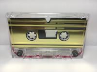C-18 Normal Bias Metallic Gold Foil Cassettes 20 pack