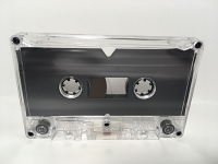 C-36 High Bias Clear Grey Liner Cassettes 10 pack