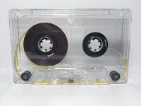 C-30 Normal Bias Tape Transparent Cassettes 20 Pack