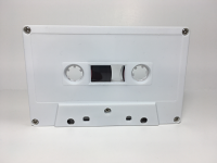 C-21 Normal Bias White Cassettes 20 Pack