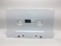 C-44 Normal Bias White Cassettes 5 Pack