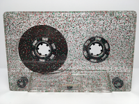 C-36 Normal Bias Glitter Silver Green Red Cassettes 15 pack