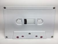 C-50 Normal Bias White Brick Cassettes 10 Pack