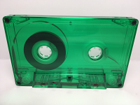 C-26 Normal Bias Green Transparent Cassettes 7 Pack