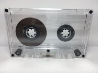 C-23 High Bias Transparent Cassettes 25 Pack